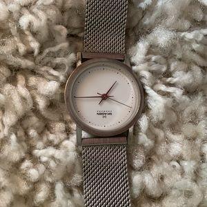 Vintage Skagen stainless steel women's watch